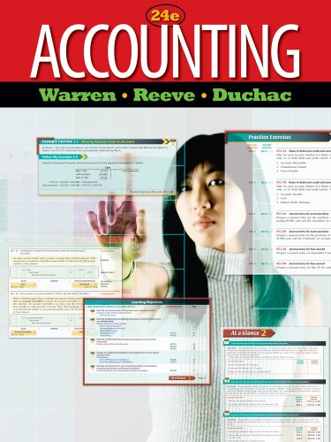 Accounting Principles  24th 2012 9780538478533 Front Cover