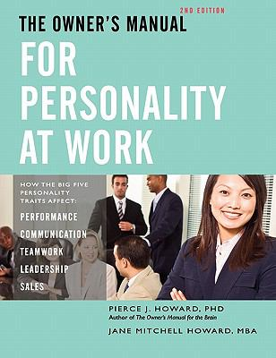 The Owner's Manual for Personality at Work (2nd Ed.) N/A edition cover