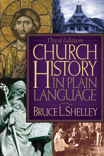 Church History in Plain Language  3rd 2008 edition cover