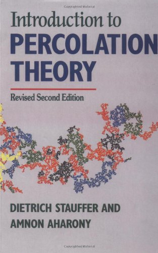 Introduction to Percolation Theory  2nd 1994 (Revised) 9780748402533 Front Cover
