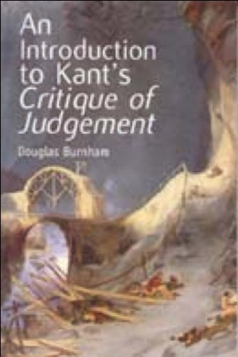 Introduction to Kant's Critique of Judgement   2000 9780748613533 Front Cover