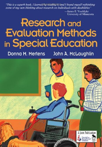 Research and Evaluation Methods in Special Education   2004 edition cover