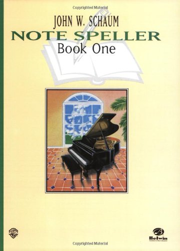 Note Speller   1996 (Revised) 9780769234533 Front Cover