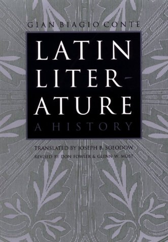 Latin Literature A History 2nd 1999 edition cover
