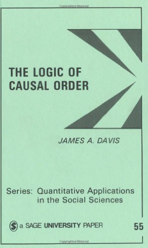 Logic of Causal Order   1985 edition cover