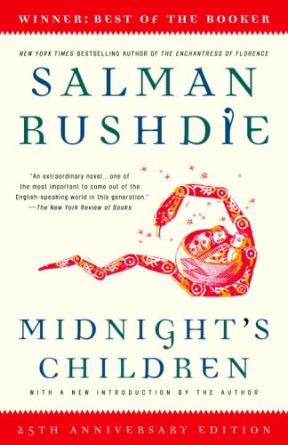 Midnight's Children  25th 2006 9780812976533 Front Cover