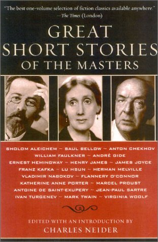Great Short Stories of the Masters   2003 edition cover