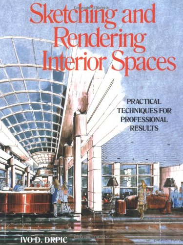 Sketching and Rendering of Interior Spaces   1988 edition cover