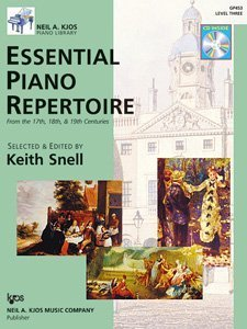 Neil A. Kjos Piano Library: Essential Piano Repertoire: Level 3  0 edition cover