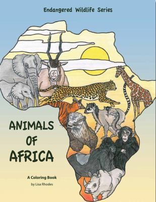 Animals of Africa  N/A 9780871089533 Front Cover
