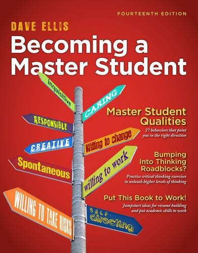 Becoming a Master Student  14th 2013 9781111827533 Front Cover
