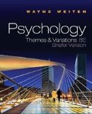PSYCHOLOGY:THEMES+VARIATIONS > N/A 9781133355533 Front Cover