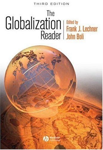 Globalization Reader  3rd 2008 (Revised) edition cover