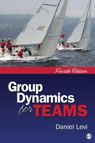 Group Dynamics for Teams  4th 2014 edition cover