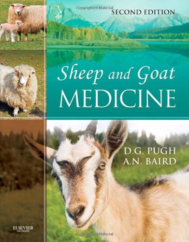 Sheep and Goat Medicine  2nd 2012 edition cover