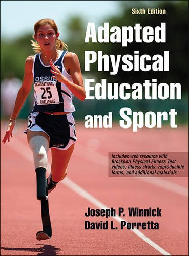 Adapted Physical Education and Sport  6th 2017 9781492511533 Front Cover