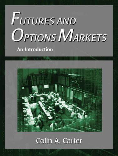 Futures and Options Markets An Introduction  2003 9781577665533 Front Cover