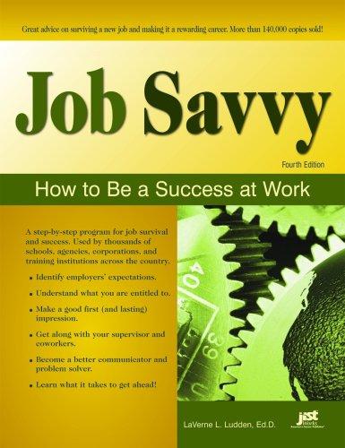 Job Savvy, Fourth Edition  4th 2008 (Workbook) edition cover
