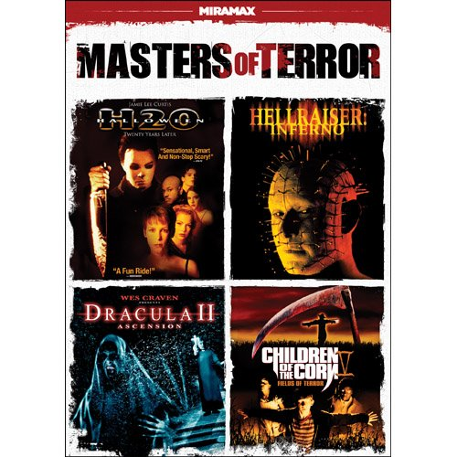 Masters of Terror (Halloween H2O / Hellraiser: Inferno / Dracula II: Ascension / Children of the Corn V: Fields of Terror) System.Collections.Generic.List`1[System.String] artwork