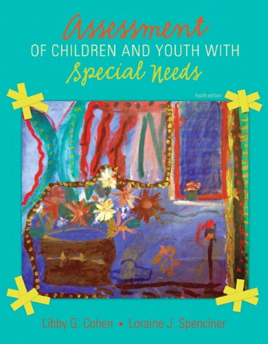 Assessment of Children and Youth with Special Needs  4th 2011 edition cover