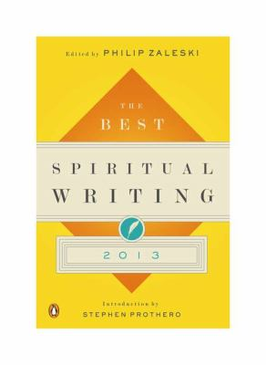 Best Spiritual Writing 2013  N/A edition cover