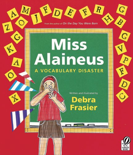 Miss Alaineus A Vocabulary Disaster  2000 edition cover