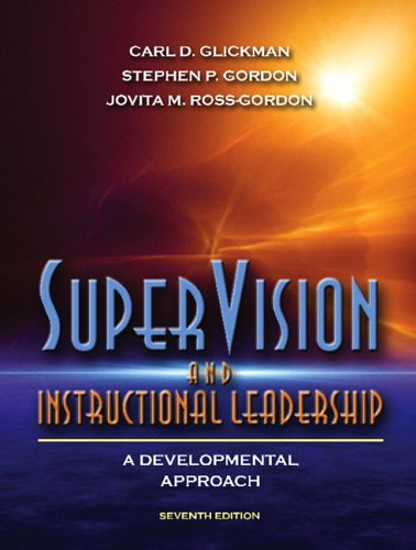 Supervision and Instructional Leadership  7th 2007 (Revised) edition cover