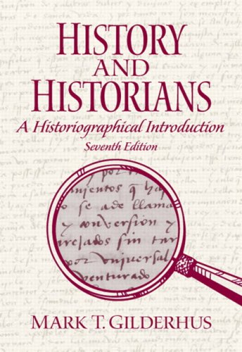 History and Historians  7th 2010 edition cover