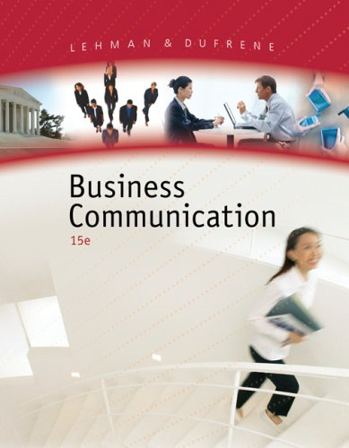 Business Communication  15th 2008 (Revised) edition cover
