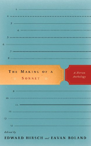 Making of a Sonnet A Norton Anthology  2009 edition cover
