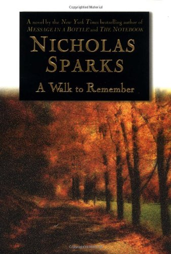 Walk to Remember   1999 9780446525534 Front Cover