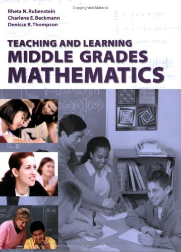 Teaching and Learning Middle Grades Mathematics   2004 edition cover