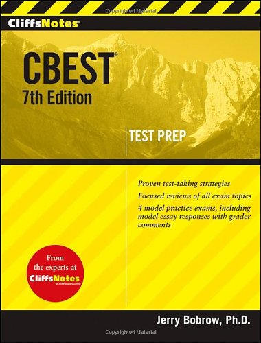 CBEST  7th 2010 edition cover