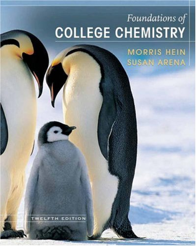 Foundations of College Chemistry  12th 2007 (Revised) edition cover