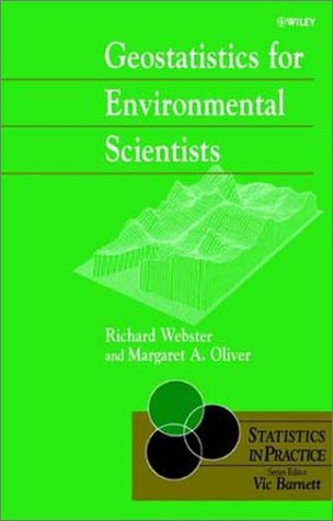 Geostatistics for Environmental Scientists   2001 9780471965534 Front Cover