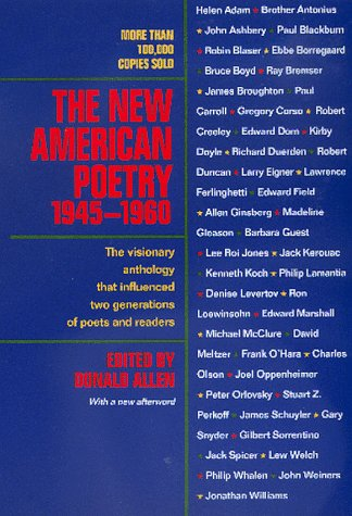 New American Poetry, 1945-1960   1999 edition cover