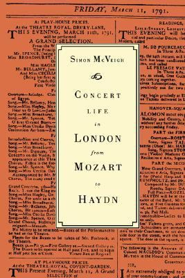 Concert Life in London from Mozart to Haydn   1993 9780521413534 Front Cover