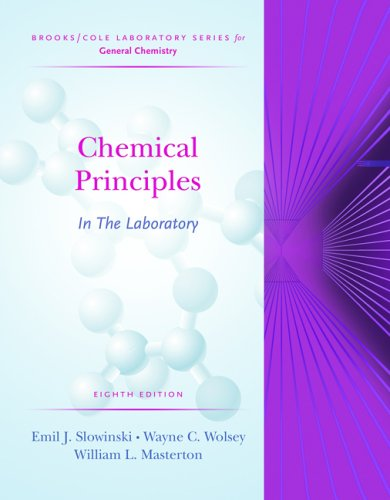 Chemical Principles in the Laboratory  8th 2005 (Revised) edition cover