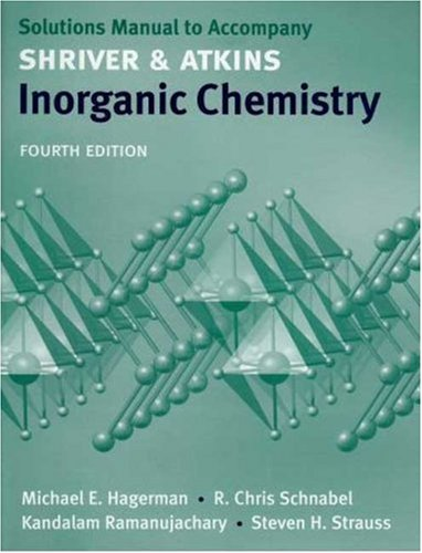 Inorganic Chemistry  4th 2006 edition cover