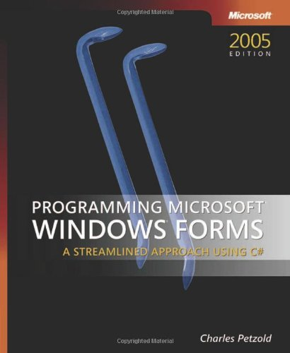 Programming Microsoft� Windows� Forms   2006 (Revised) 9780735621534 Front Cover