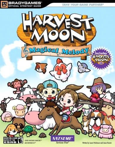 Harvest Moon: Magical Melody   2006 9780744007534 Front Cover