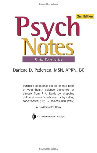 Psych Notes  2nd 2008 (Revised) edition cover