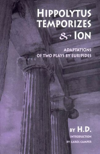 Hippolytus Temporizes and Ion Adaptations from Euripides  2003 edition cover