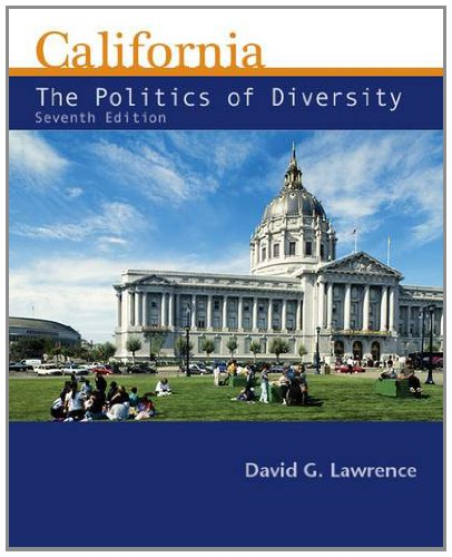 California The Politics of Diversity 7th 2013 edition cover