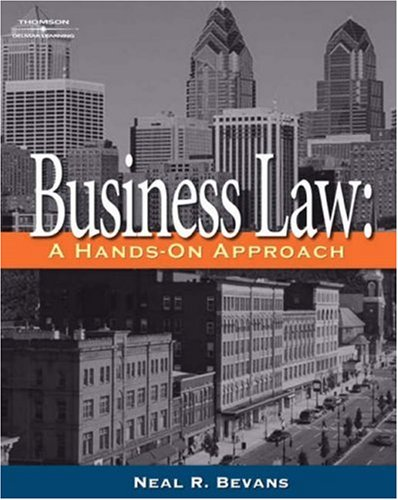 Business Law A Hands-On Approach  2006 edition cover