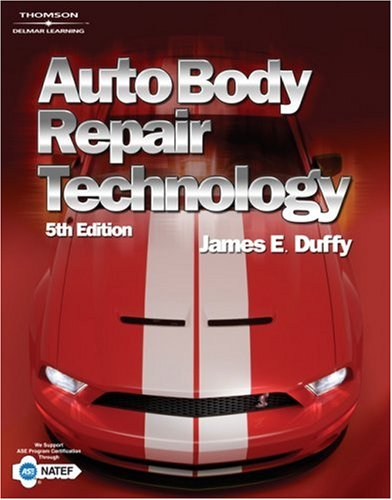 Auto Body Repair Technology  5th 2009 (Revised) edition cover