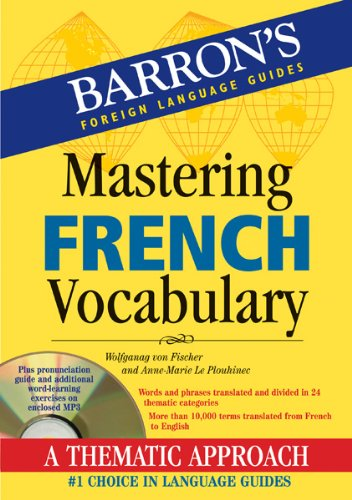 Mastering French Vocabulary   2012 edition cover