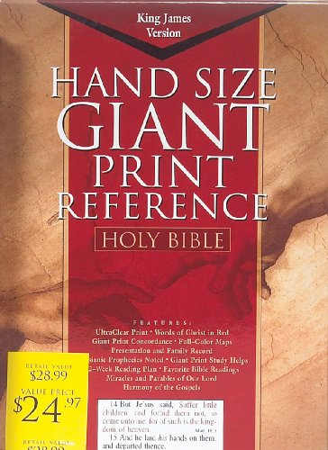 KJV Giant Print Reference Bible   1998 (Large Type) edition cover