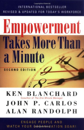 Empowerment Takes More Than a Minute  2nd 2001 (Revised) edition cover
