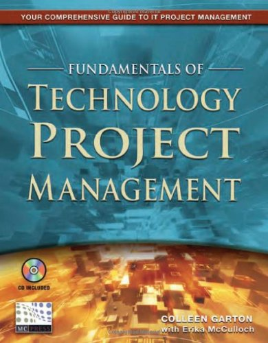 Fundamentals of Technology Project Management   2004 edition cover